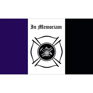 3x5 Fireman In Memoriam Outdoor Nylon Flag