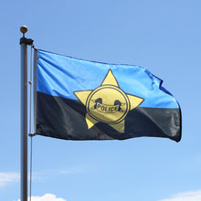Load image into Gallery viewer, 3x5 Police Remembrance Outdoor Nylon Flag