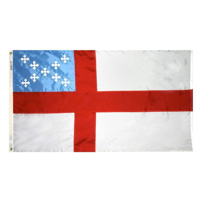 5x8 Episcopal Sewn Outdoor Nylon Flag