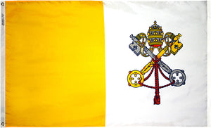 6x10 Papal Outdoor Nylon Flag
