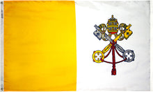 Load image into Gallery viewer, 5x8 Papal Outdoor Nylon Flag