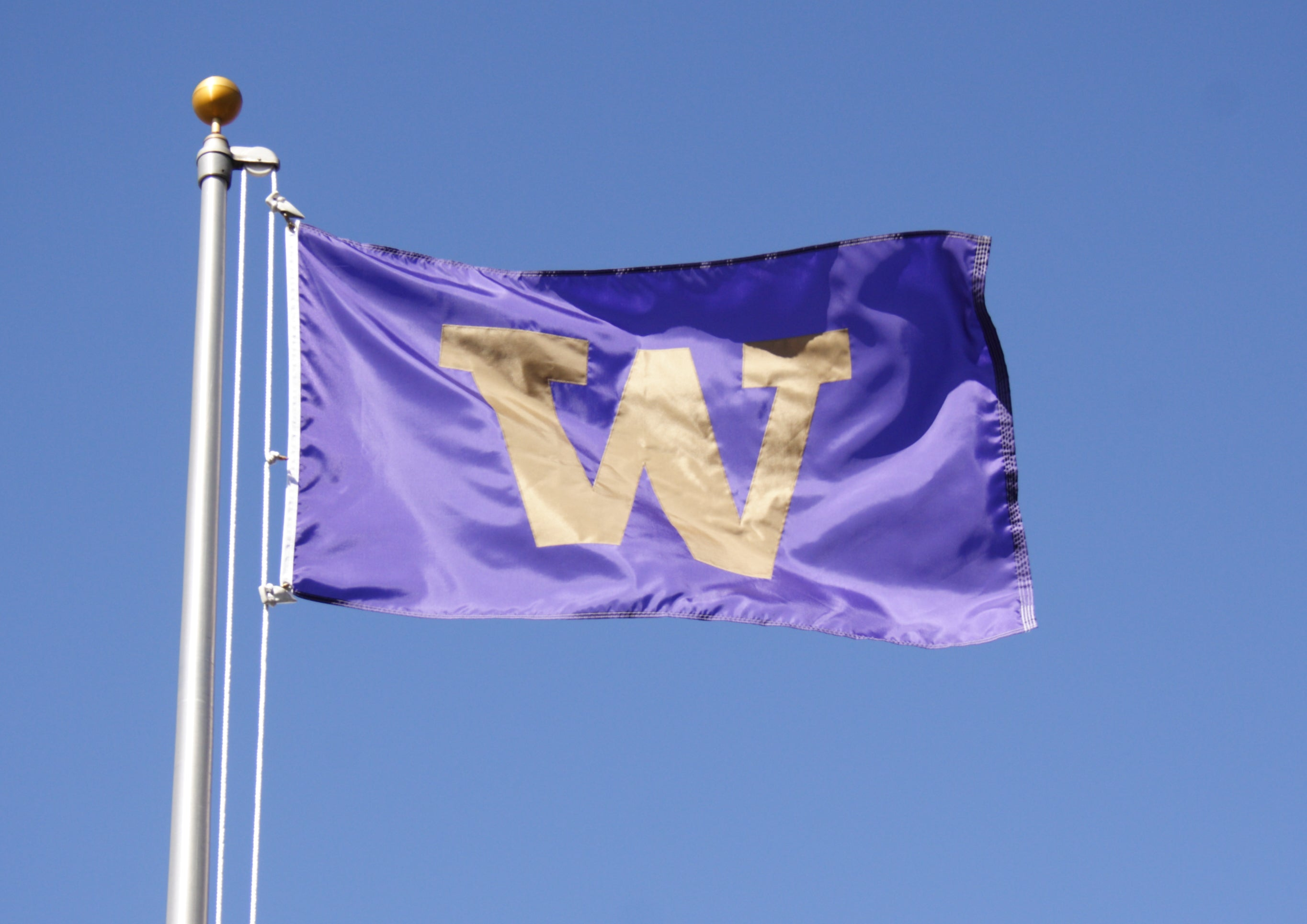 Load image into Gallery viewer, 4x6 University of Washington Huskies Outdoor Flag