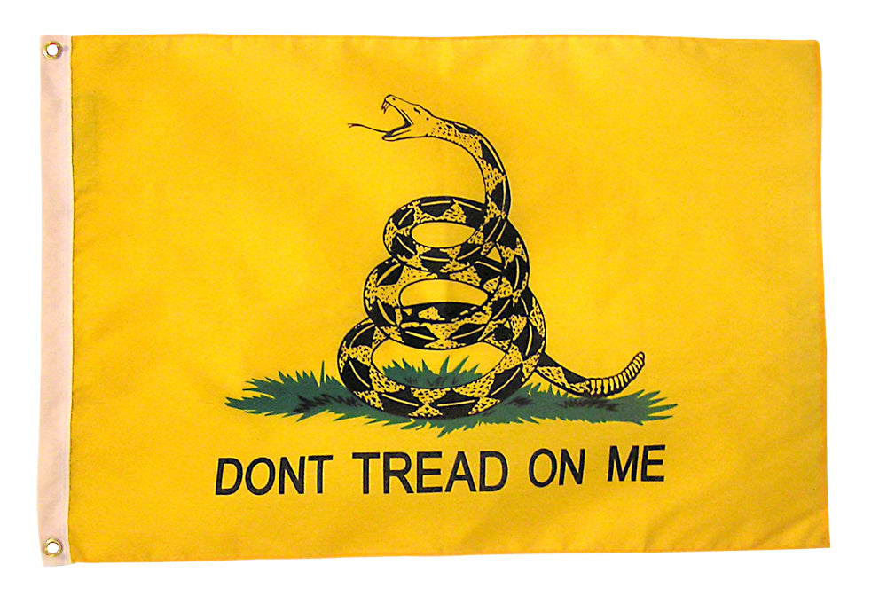 Load image into Gallery viewer, 4x6 Gadsden Historical Nylon Flag