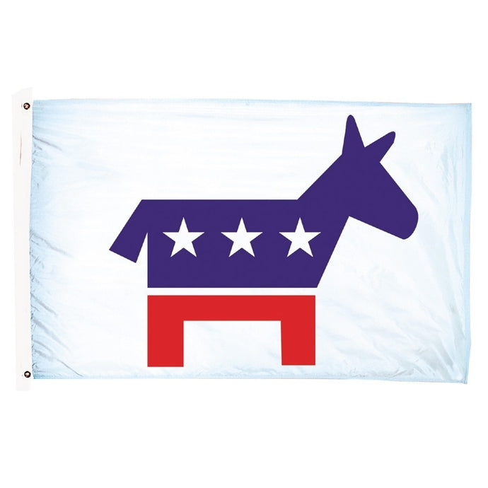3x5 Democrat Political Party Outdoor Flag