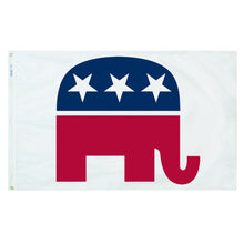 Load image into Gallery viewer, 3x5 Republican Political Party Outdoor Flag