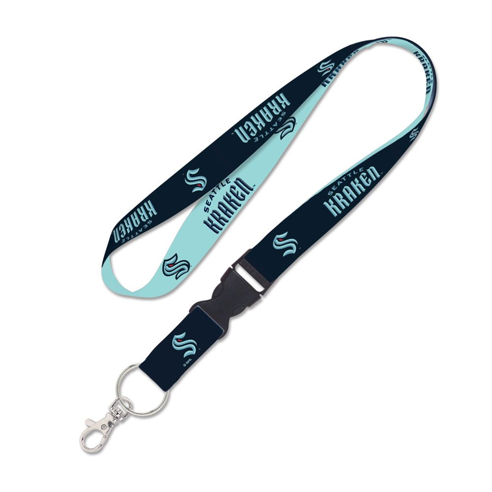 Load image into Gallery viewer, Seattle Kraken Breakaway Lanyard