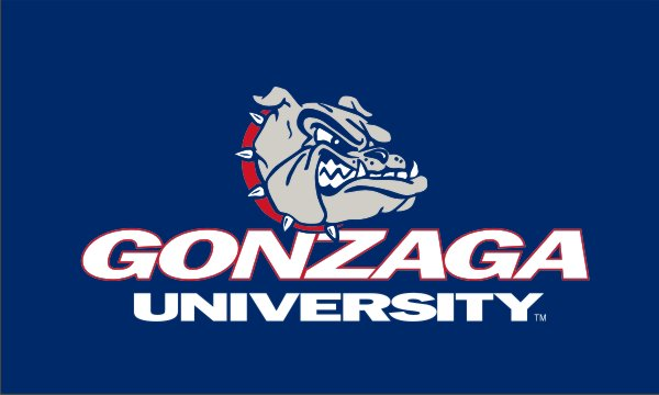 Load image into Gallery viewer, 4x6 Gonzaga University Flag; Polyester H&G