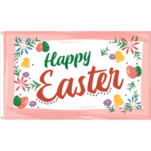Load image into Gallery viewer, 3x5 Happy Easter Colors Seasonal Outdoor Nylon Flag