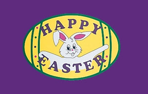 3x5 Happy Easter Seasonal Outdoor Nylon Flag