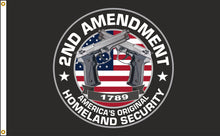 Load image into Gallery viewer, 3x5 2nd Amendment Outdoor Nylon Flag
