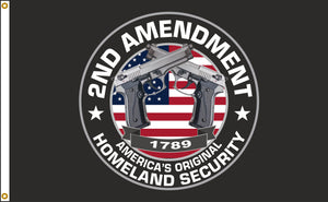 3x5 2nd Amendment Outdoor Nylon Flag