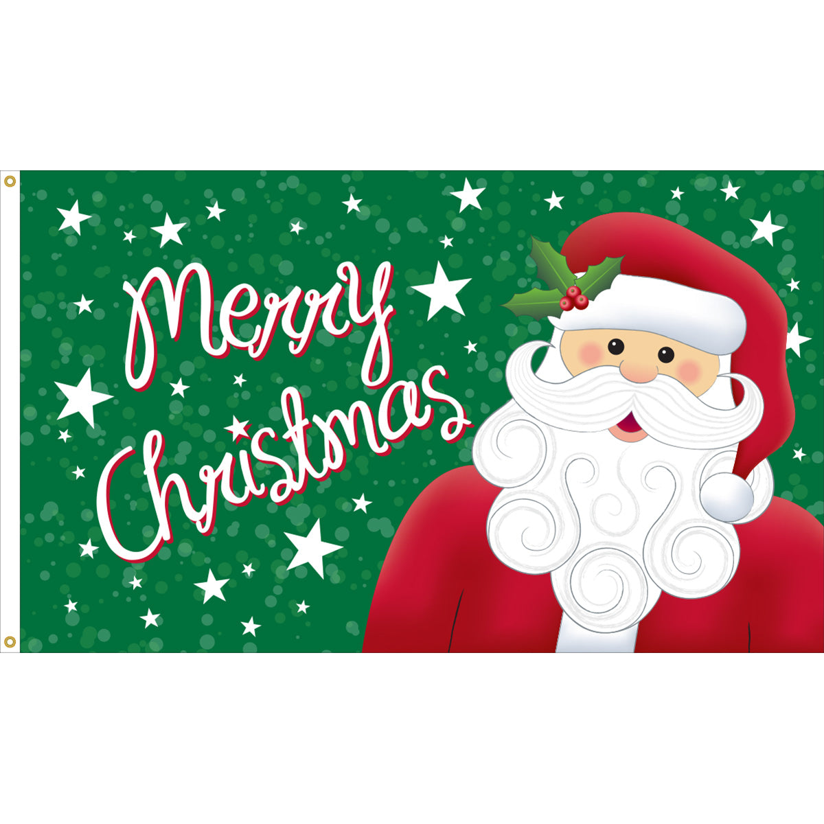 Load image into Gallery viewer, 3x5 Merry Christmas Santa Seasonal Outdoor Nylon Flag