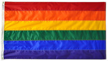 Load image into Gallery viewer, 2x3 Rainbow Outdoor Nylon Flag