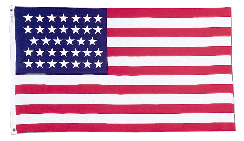 Load image into Gallery viewer, 3x5 34 Star Union Civil War Historical Printed Nylon Flag