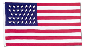 2x3 34 Star Union Civil War Historical Printed Nylon Flag