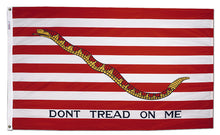 "Load image into Gallery viewer, 12""x18"" First Navy Jack Historical Nylon Flag"