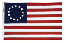 Load image into Gallery viewer, 3x5 Betsy Ross Historical Cotton Flag