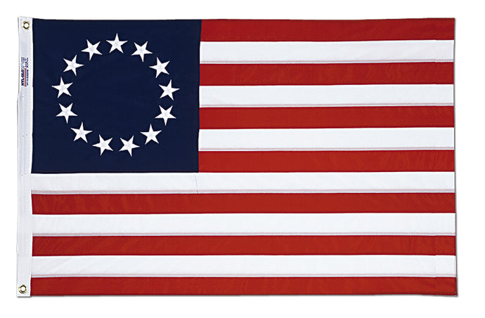 3x5 Betsy Ross Historical Cotton Flag