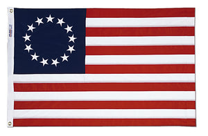 4x6 Betsy Ross Historical Cotton Flag