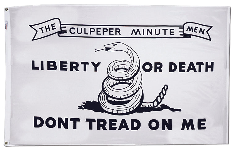 "Load image into Gallery viewer, 12""x18"" Culpeper Historical Nylon Flag"
