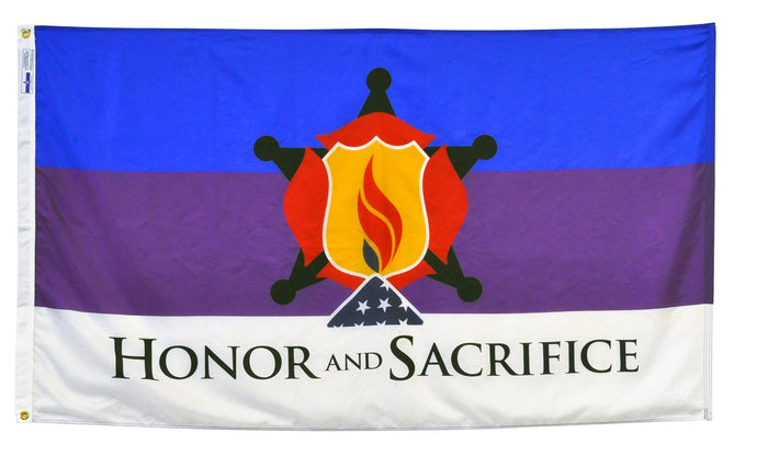 3x5 Honor & Sacrifice Outdoor Nylon Flag