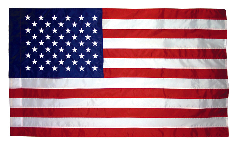 Load image into Gallery viewer, 4x6 American Indoor & Parade Sewn Nylon Flag with Sleeve