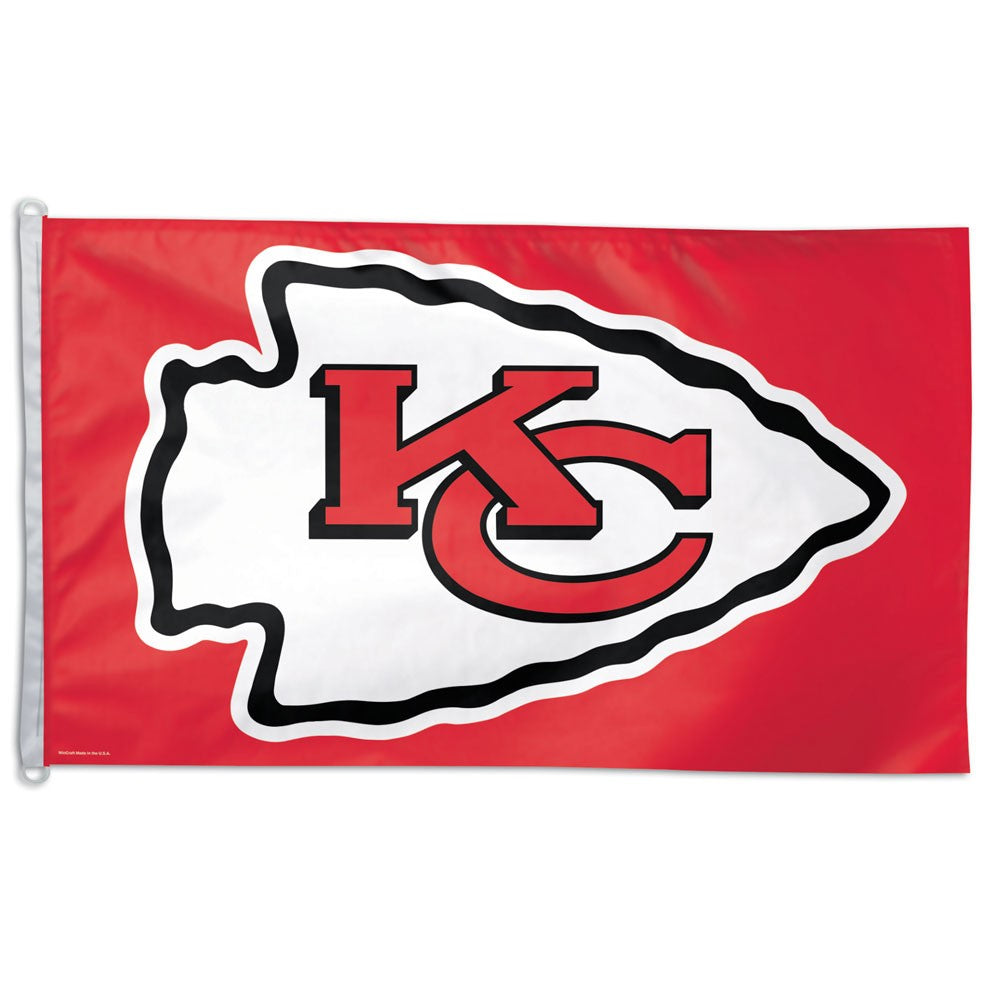 Load image into Gallery viewer, 3x5 Kansas City Chiefs Polyester Team Flag