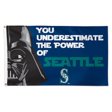 Load image into Gallery viewer, 3x5 Seattle Mariners Darth Vader Team Flag; Polyester H&G