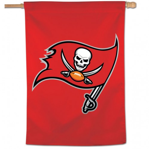 "Load image into Gallery viewer, 28""x40"" Tampa Bay Buccaneers House Flag"