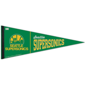 Seattle Supersonics Premium Felt Pennant