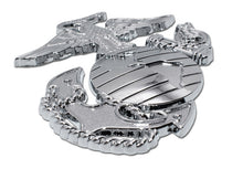 Load image into Gallery viewer, US Marine Corps Premium Insignia Chrome Automobile Emblem Accent