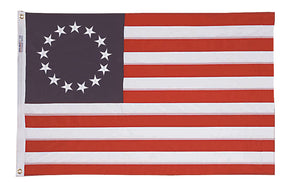 8x12 Betsy Ross Historical Polyester Flag