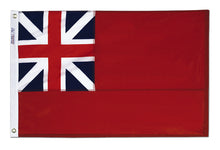 Load image into Gallery viewer, 4x6 British Red Ensign Historical Nylon Flag