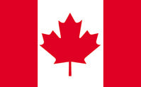 "Load image into Gallery viewer, 12""x18"" Canada Outdoor Nylon Flag"