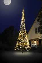 Load image into Gallery viewer, Christmas Tree Light Kit for 20' flagpole - 900 LED Count White Lights