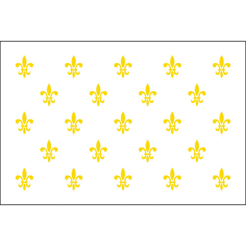 5x8 23 French Fleur de lis Historical Nylon Flag