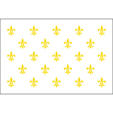 Load image into Gallery viewer, 4x6 23 French Fleur de lis Historical Nylon Flag