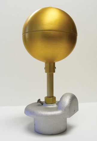 Standard Duty Gold Anodized Ball Ornament