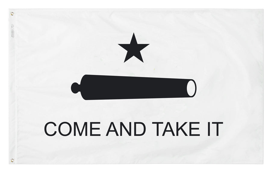Load image into Gallery viewer, 4x6 Gonzales Banner of 1835 Historical Nylon Flag