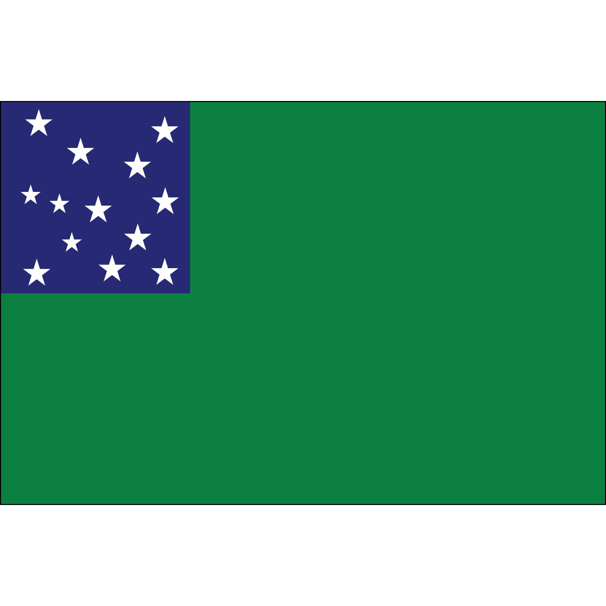 Load image into Gallery viewer, 3x5 Green Mountain Boys Historical Nylon Flag