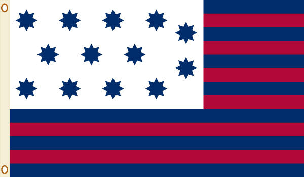 Load image into Gallery viewer, 5x8 Guilford Courthouse Historical Nylon Flag