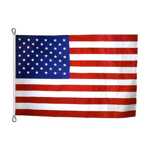 8x12 American Outdoor Sewn Polyester Flag