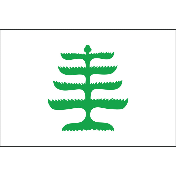 2x3 Pine Tree Historical Nylon Flag