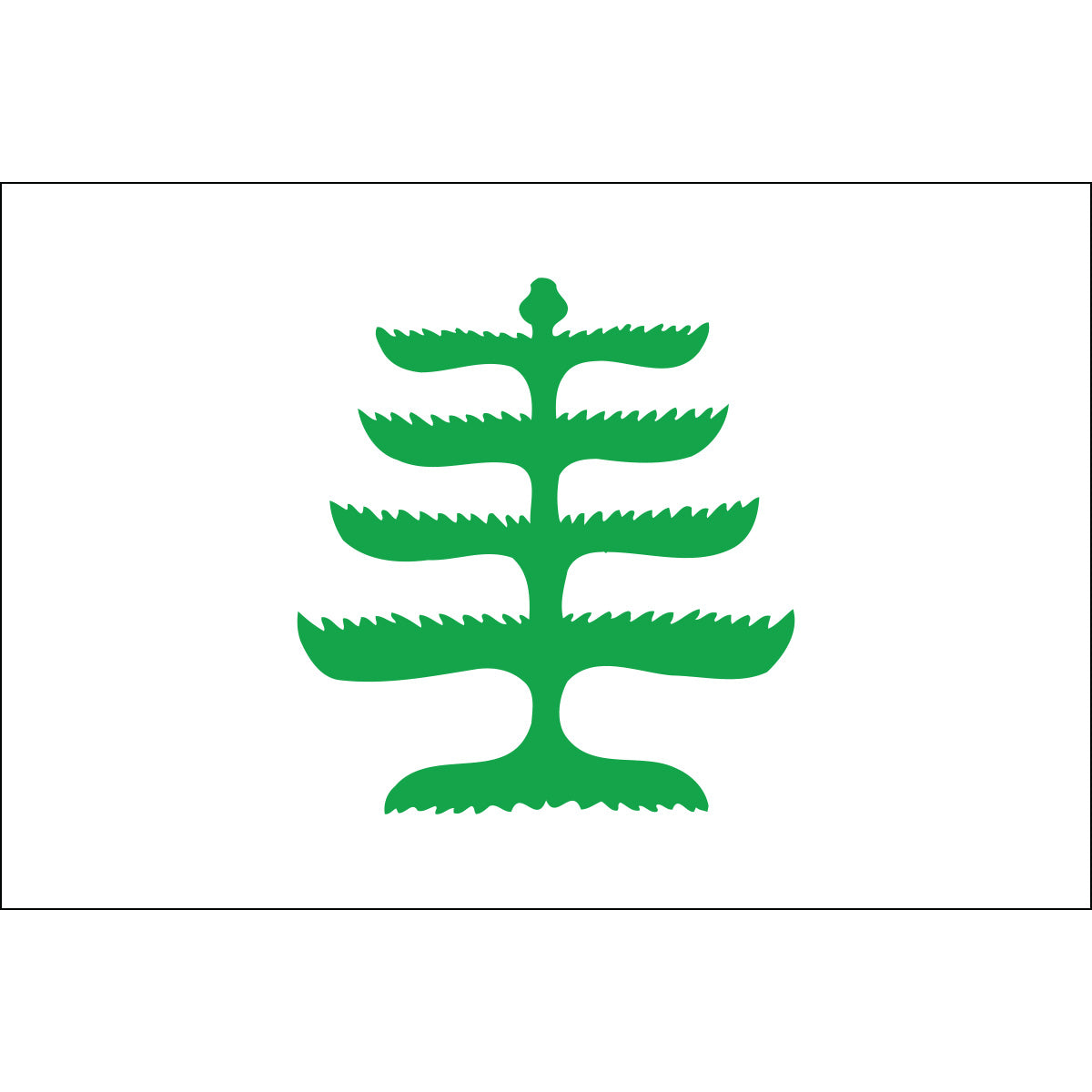 Load image into Gallery viewer, 5x8 Pine Tree Historical Nylon Flag