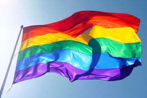 8x12 Rainbow Outdoor Nylon Flag