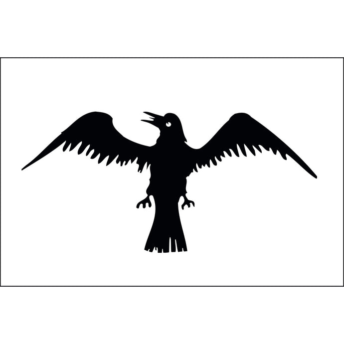 2x3 Raven Historical Nylon Flag
