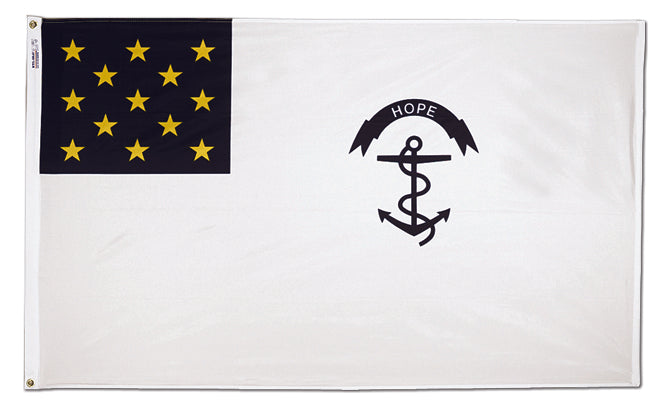 Load image into Gallery viewer, 5x8 Rhode Island Regiment Historical Nylon Flag