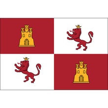 Load image into Gallery viewer, 3x5 Royal Standard of Spain Lions & Castles Historical Nylon Flag