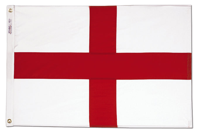 Load image into Gallery viewer, 3x5 St George's Cross/England Cotton Flag