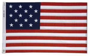 4x6 Star Spangled Banner Historical Printed Nylon Flag